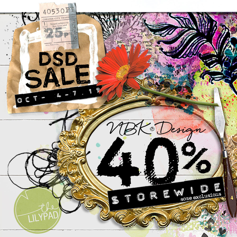 DSD is here – SAVE 40% off all (some exclusions)