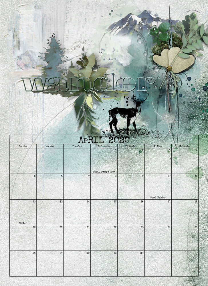 12 Weeks Unitl Christmas Challenge – April