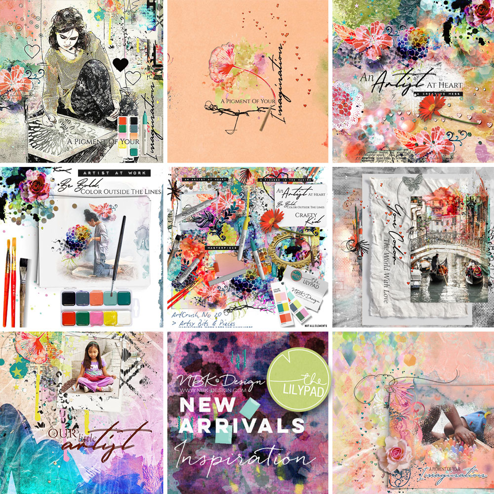 Some CT Layouts with artCrush No.20