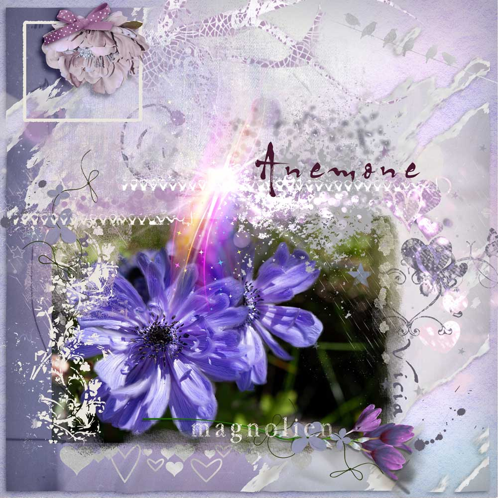 Lavender Treasure Inspiration with Anne/aka Oldenmeade