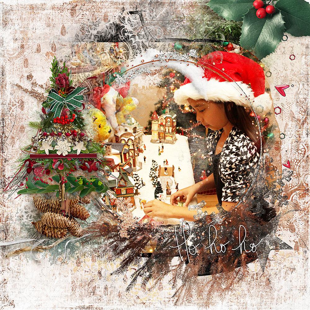 Chalky Christmas Collection   – Inspiration by Flor (aka twinsmomflor)