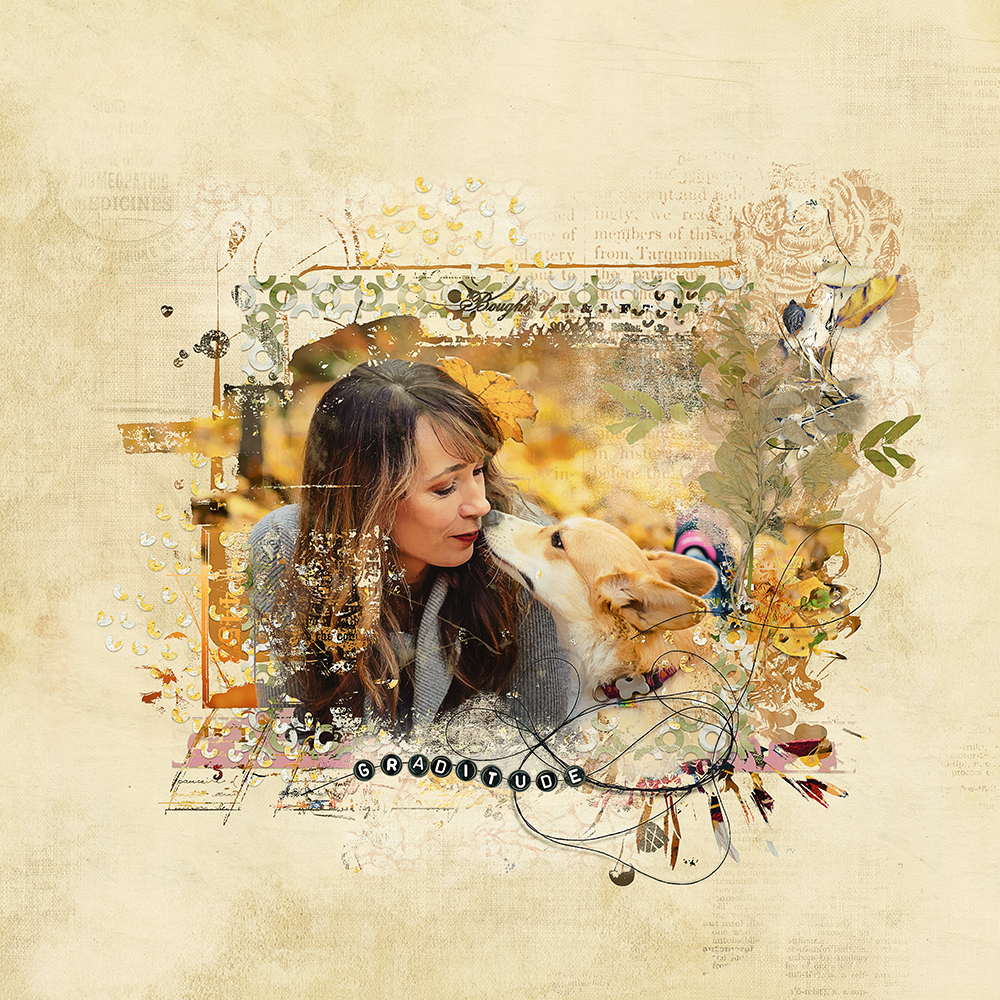 Layout inspiration for Gratitude by NBK-Design by Marianne