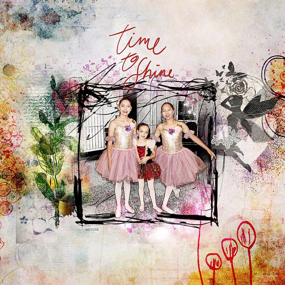Love & Light Collection  – Inspiration by Flor (aka twinsmomflor)