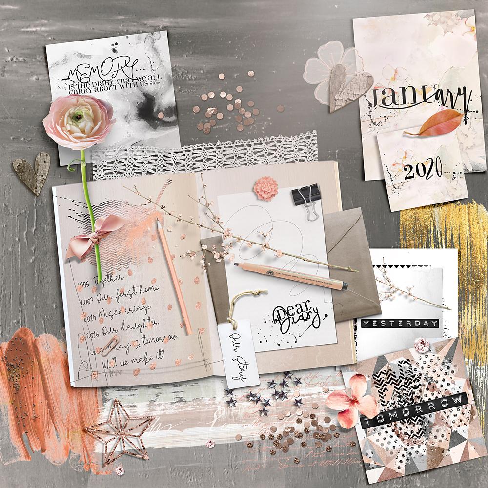 Dear Diary – Inspiration by Cindy