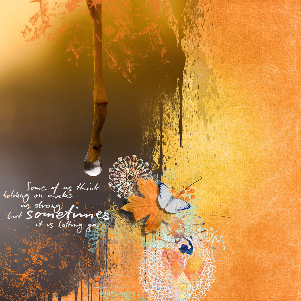 Layout inspiration by Danesa using Sometimes by NBK-Design