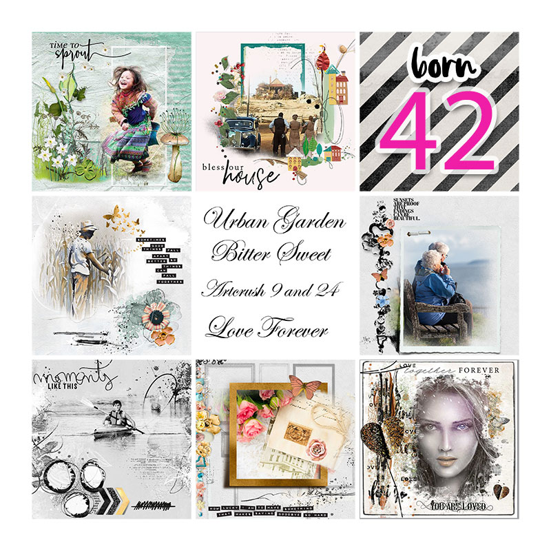 Layout inspiration by Trish, using Nicole's Free Easy Peasy Storybook Template