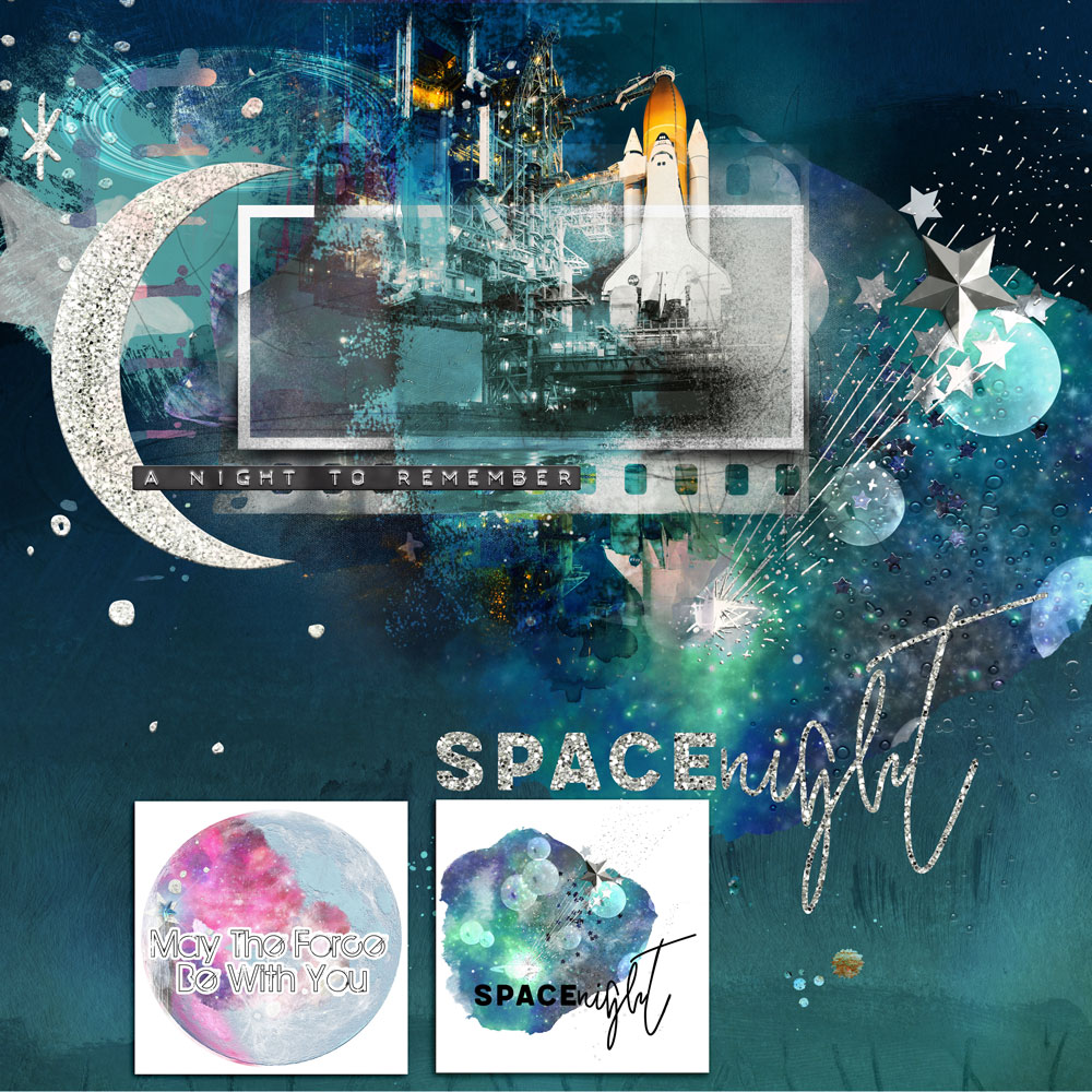 Space Night Inspiration with Anne/aka Oldenmeade