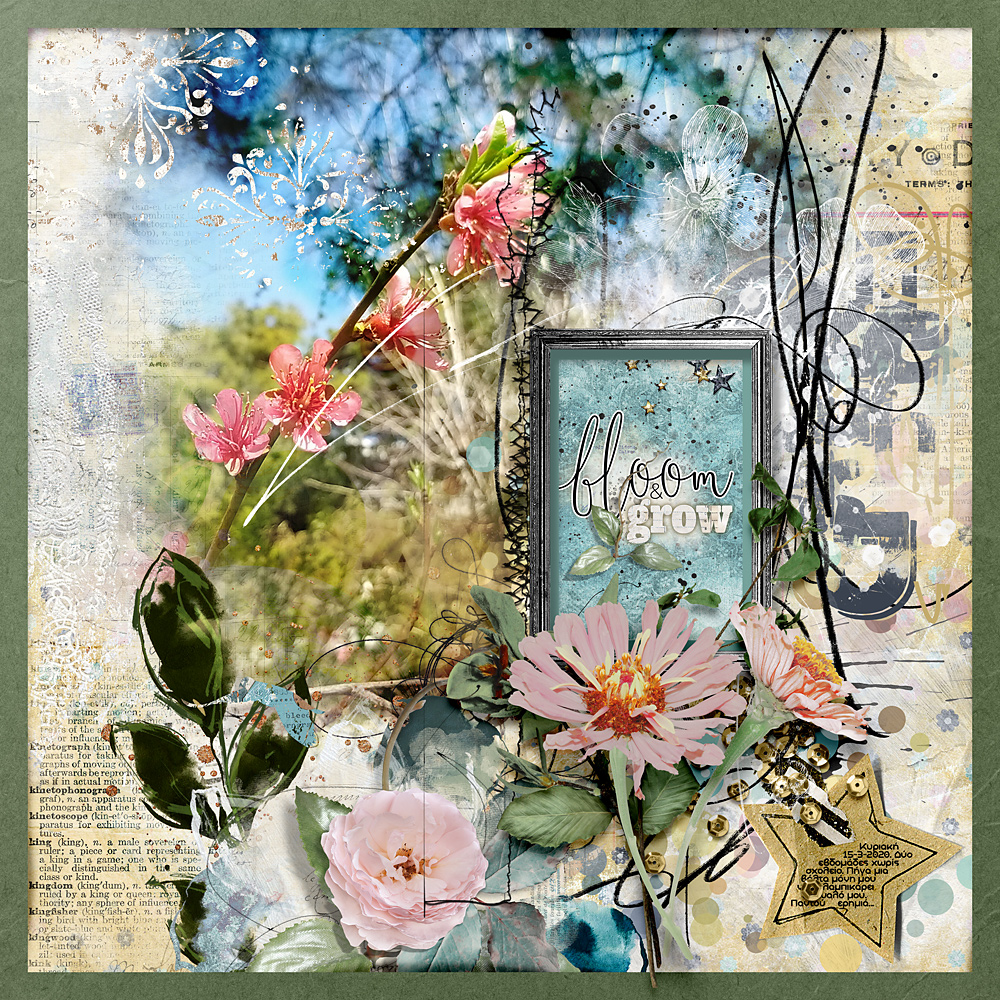 Poppin' Blossoms – Inspiration by Cindy