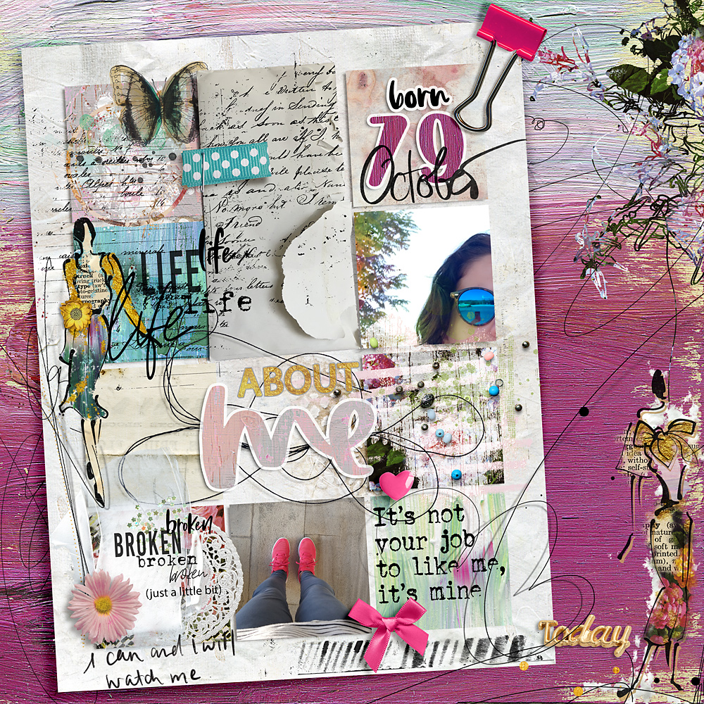 Easy peasy with an artsy twist – Inspiration by Cindy