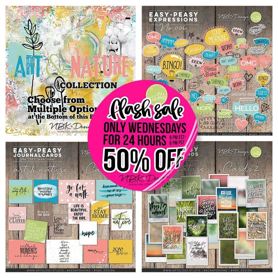Today on Sale with a 50% Saving – art & Nature Collection