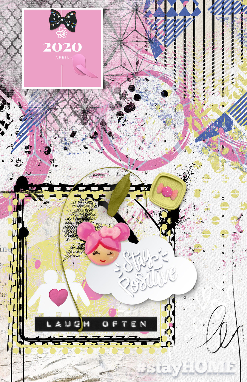 Layout inspiration by Danesa, using artCrush No26