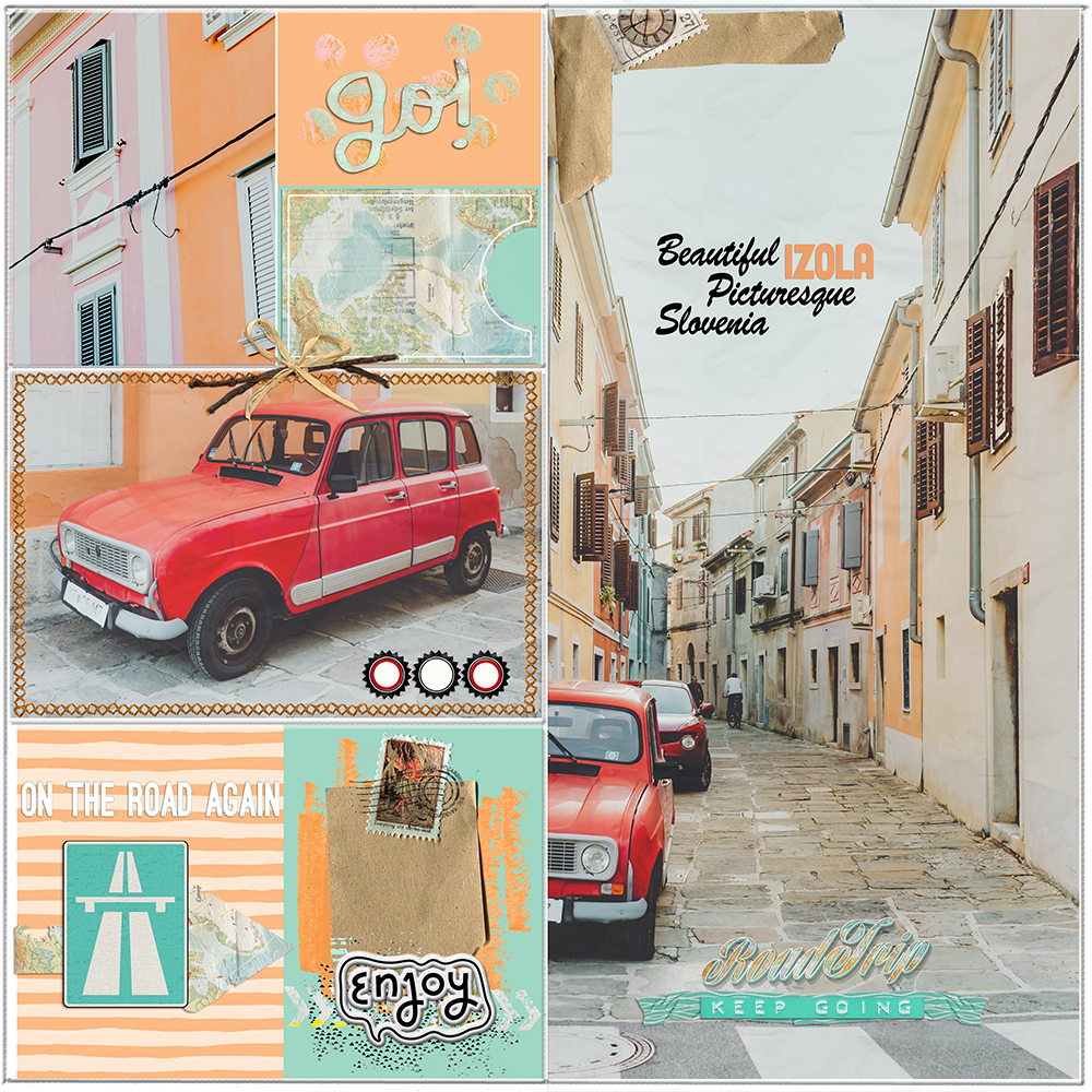 Layout inspiration for the Easy Peasy new products by Marianne