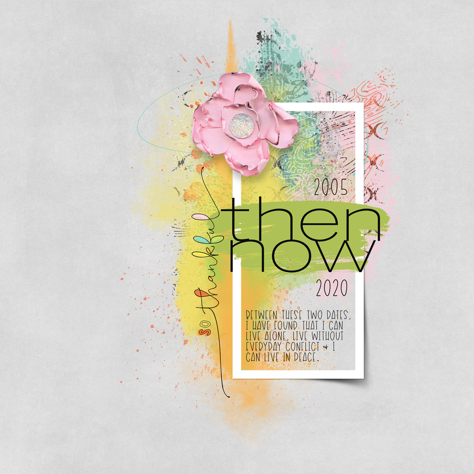 Layout Inspiration, by Danesa, using Everyday Life Collection
