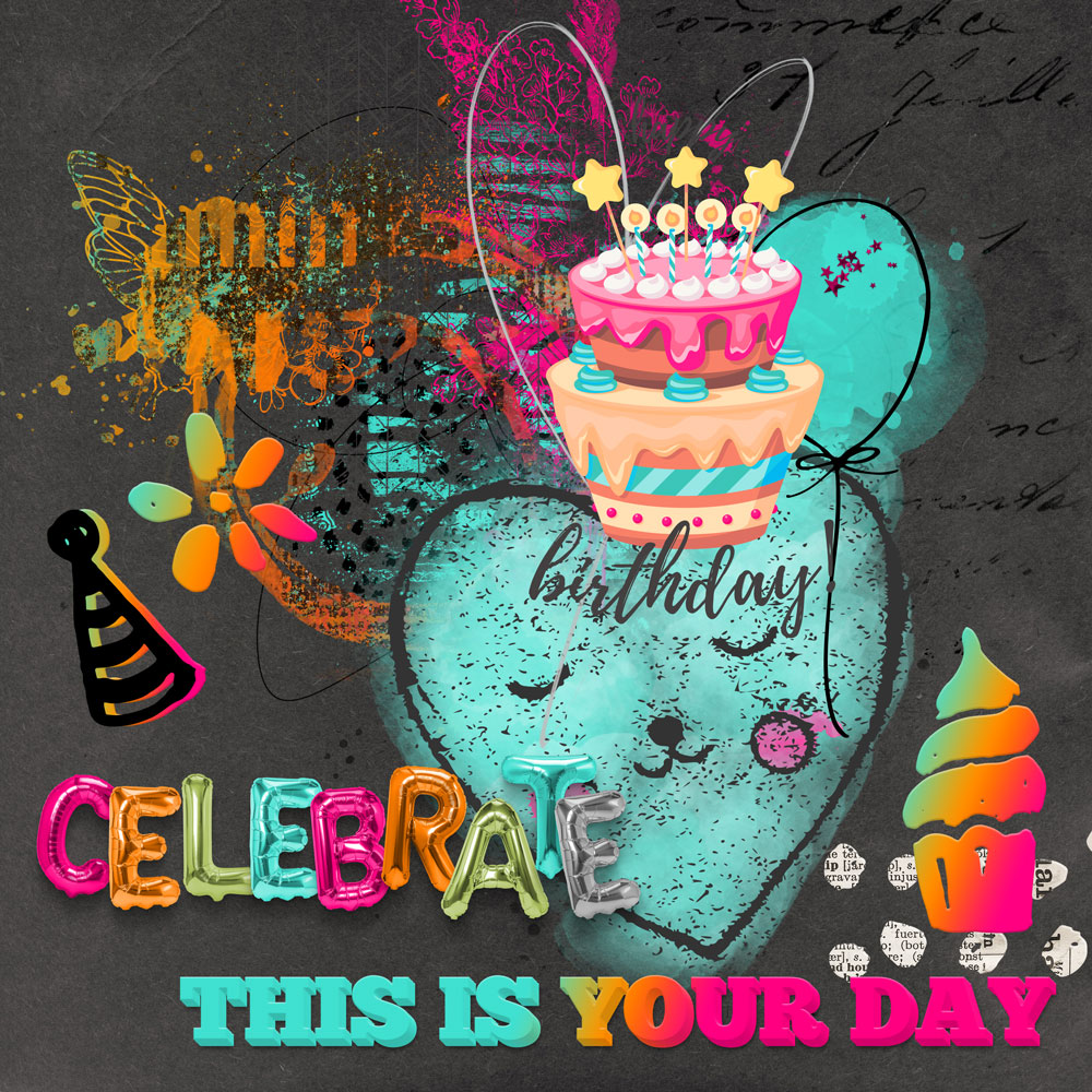 Happy Birthday To Me – FWP – Inspiration with Anne