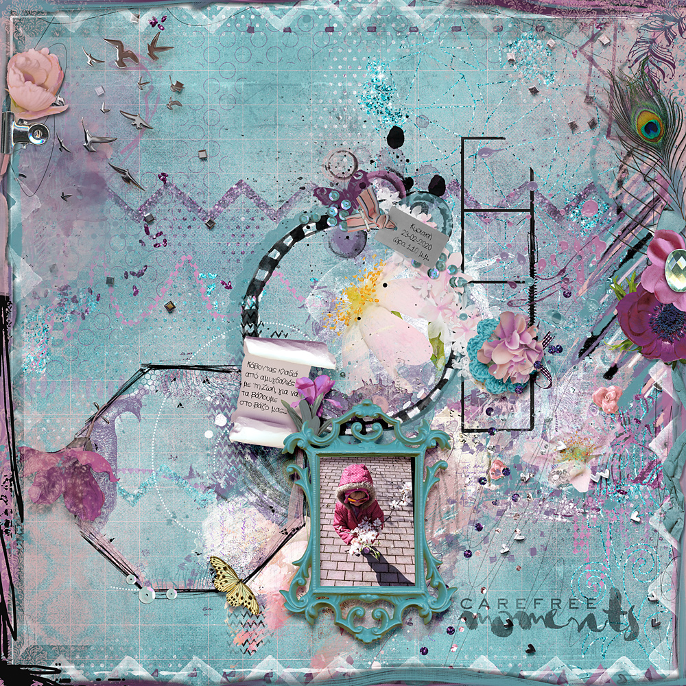 NBK Design Simple Challenge – Layout by Cindy