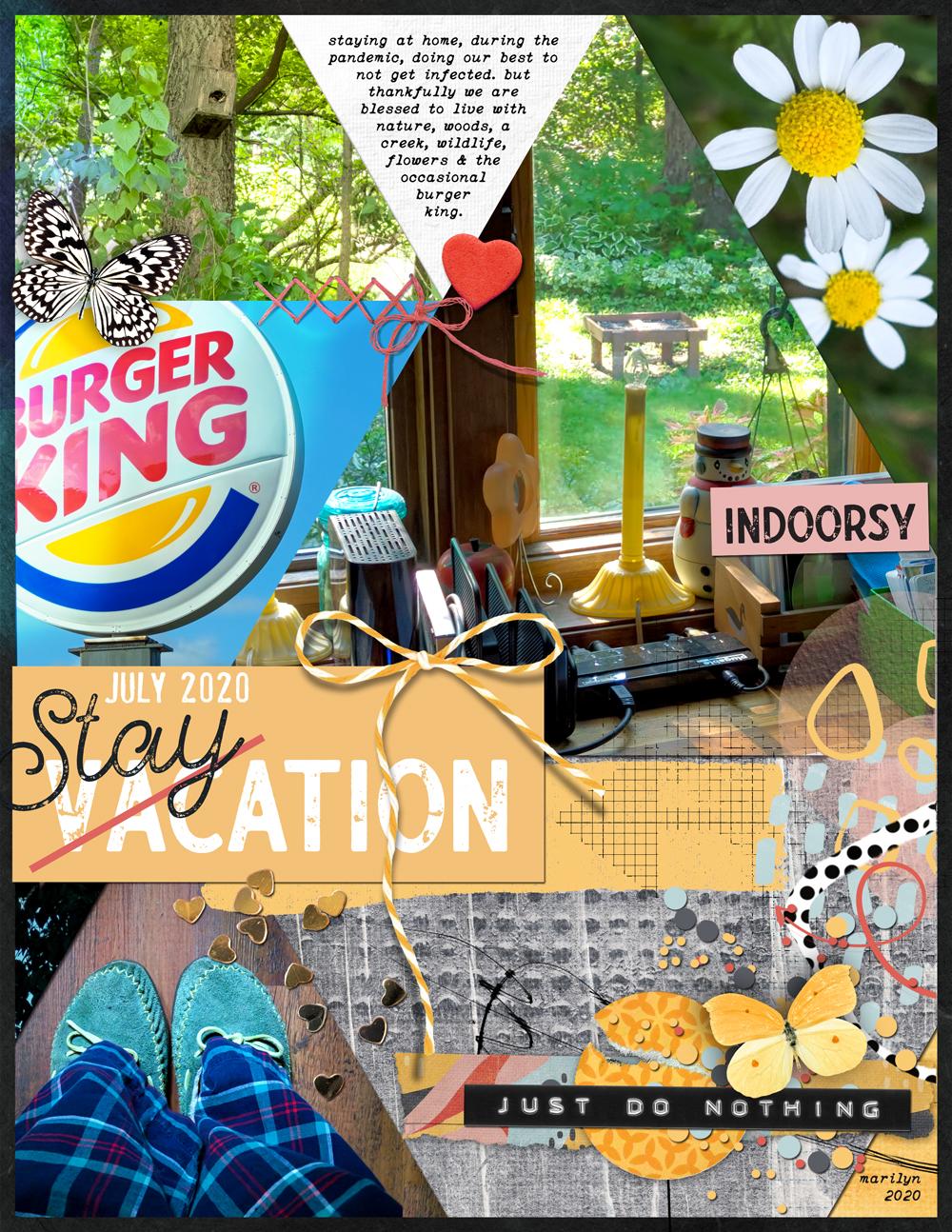 Staycation – Layout #1