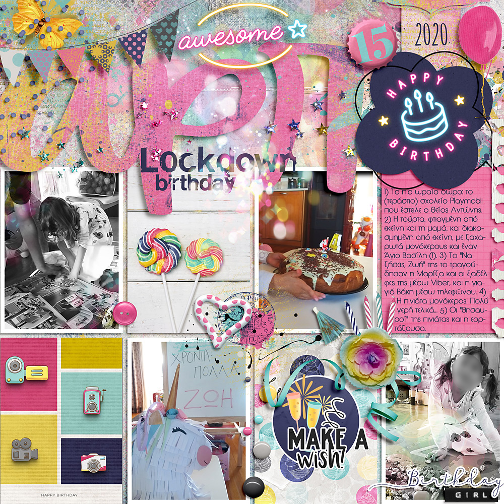 Your Day – Layout inspiration by Cindy
