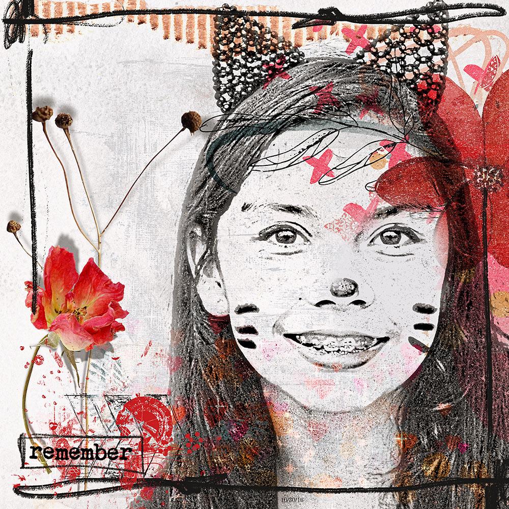 artCrush No31 Collection – Inspiration by Flor (twinsmomflor)