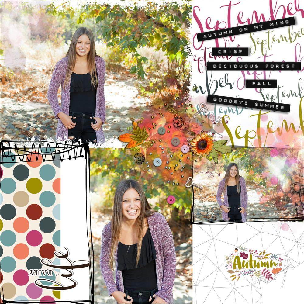 SOSN AUTUMN WHISPER COLLECTION AND EP CARDS #38