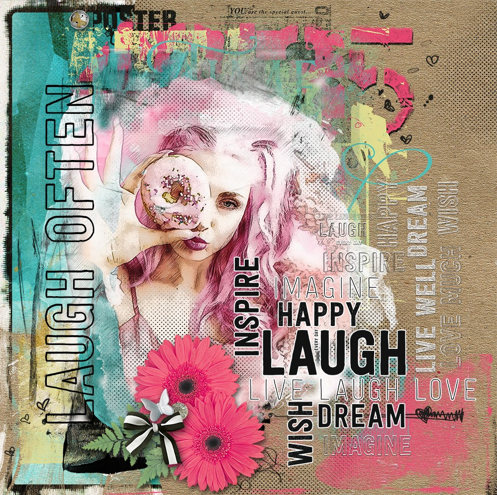 LAUGH OFTEN INSPIRATION BY ANA