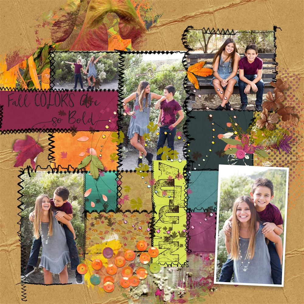 ARTCRUSH 32 TEMPLATES FOR OCTOBER CHALLENGES