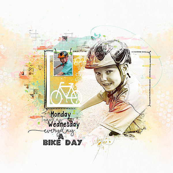 Everyday Life Collection inspiration  – Bike day by Marianne