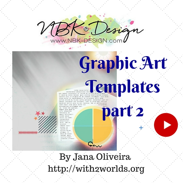 Graphic Art Template Video tutorial Part 2