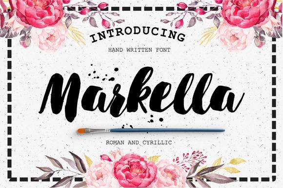 Markella Awesome Font – FREEBIE