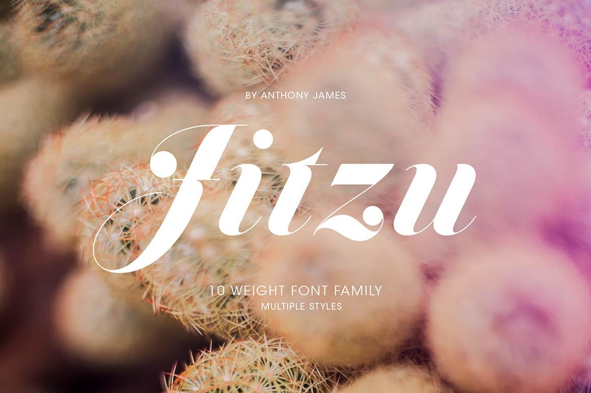 Jitzu Swash Medium – Free Font