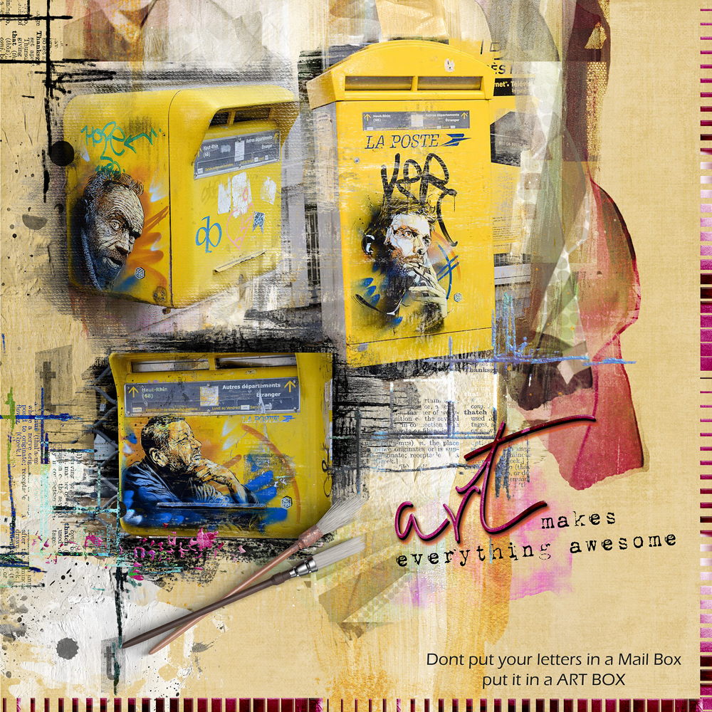 LAYOUT INSPIRATION BY CLIN D'OEIL DESIGN
