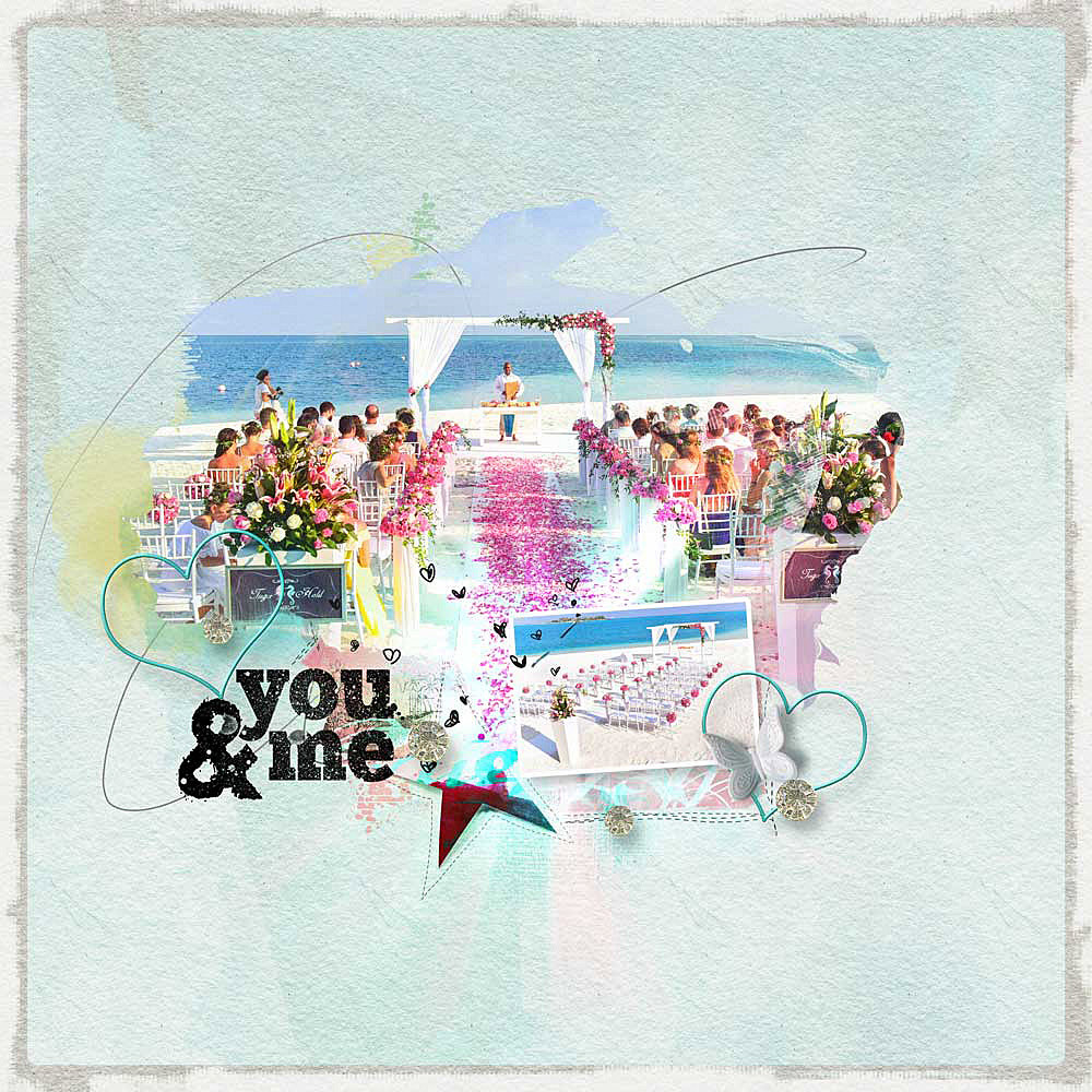 You and me – Inspiration created by Anika