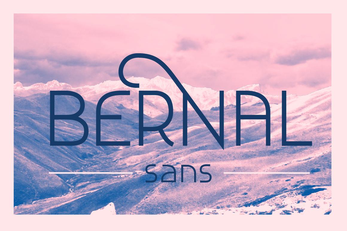 Bernal Sans ~ free Display Fonts on Creative Market