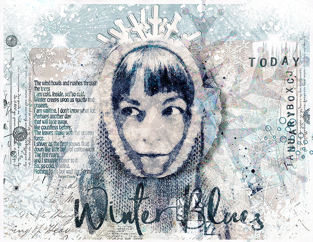Winter Blues  Collection inspiration