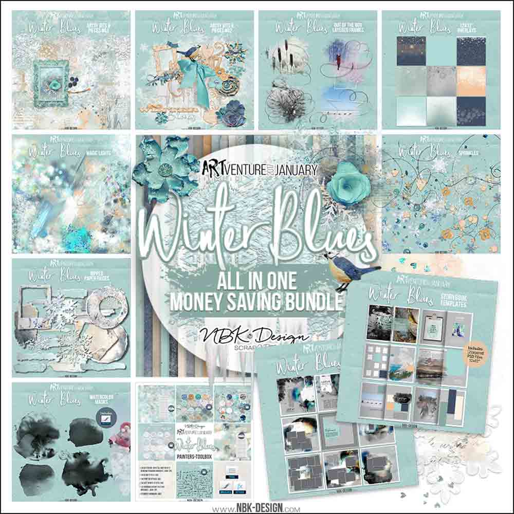 Winter Blues Collection