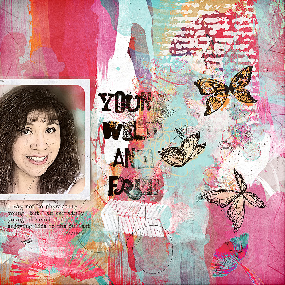 Live Wild and Free Collection – Inspiration by Flor (aka twinsmomflor)