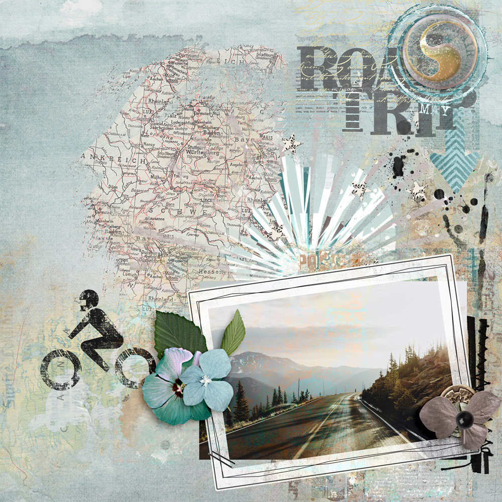 Layout Inspiration with Roadtrip Collection