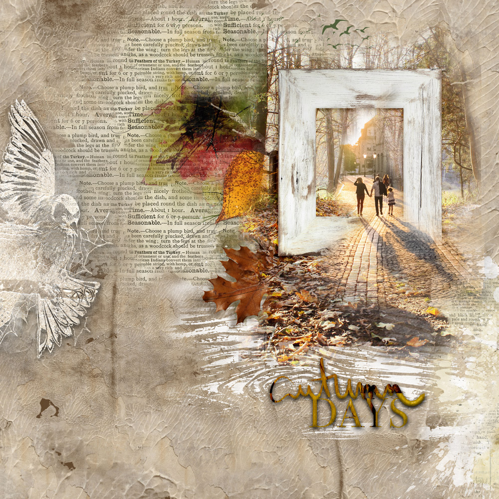 WonderFALL Inspiration with Anne/aka Oldenmeade