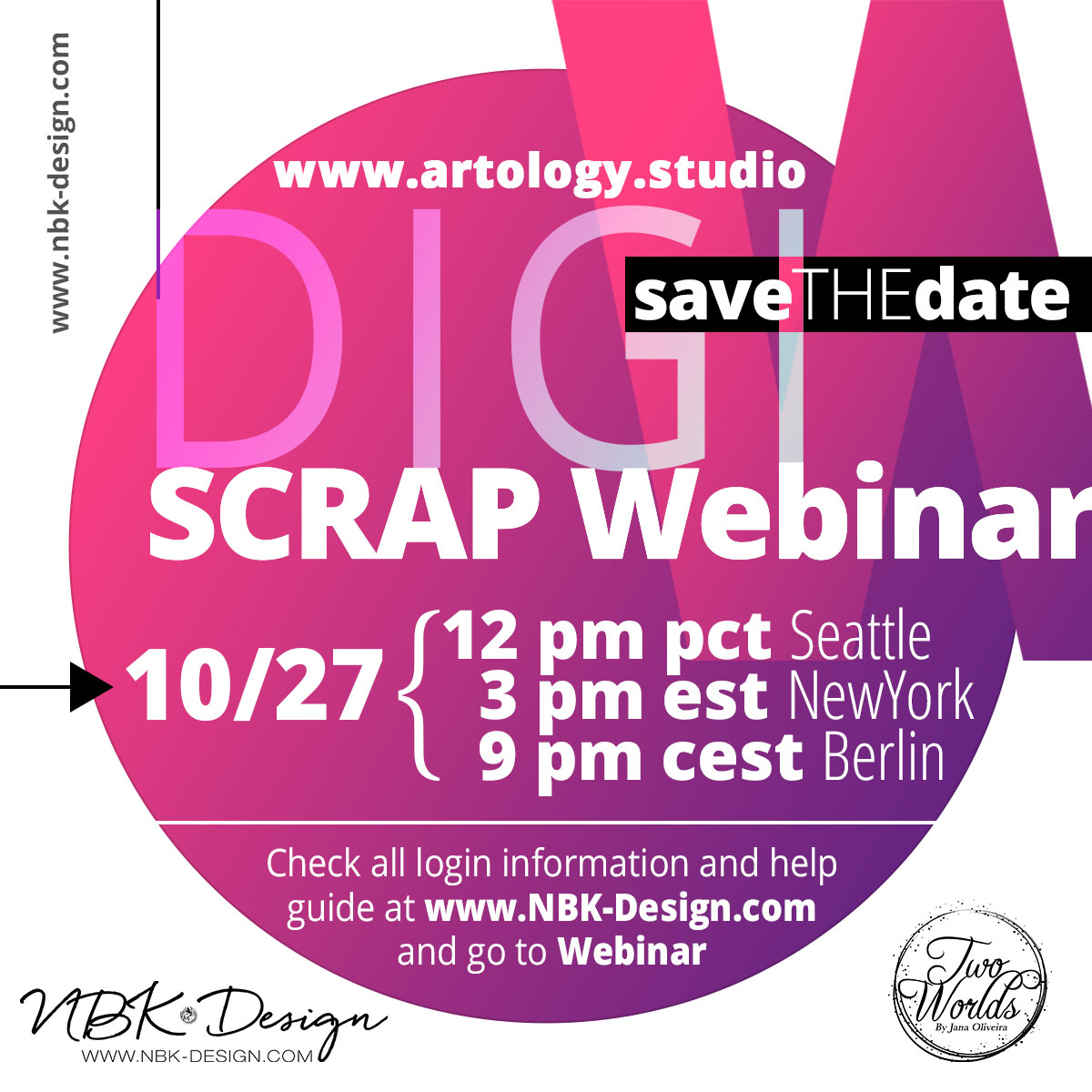 Save the Date for the new upcoming Webinar – Details inside!
