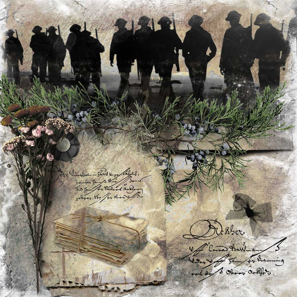 Remembrance – inspiration by Trish