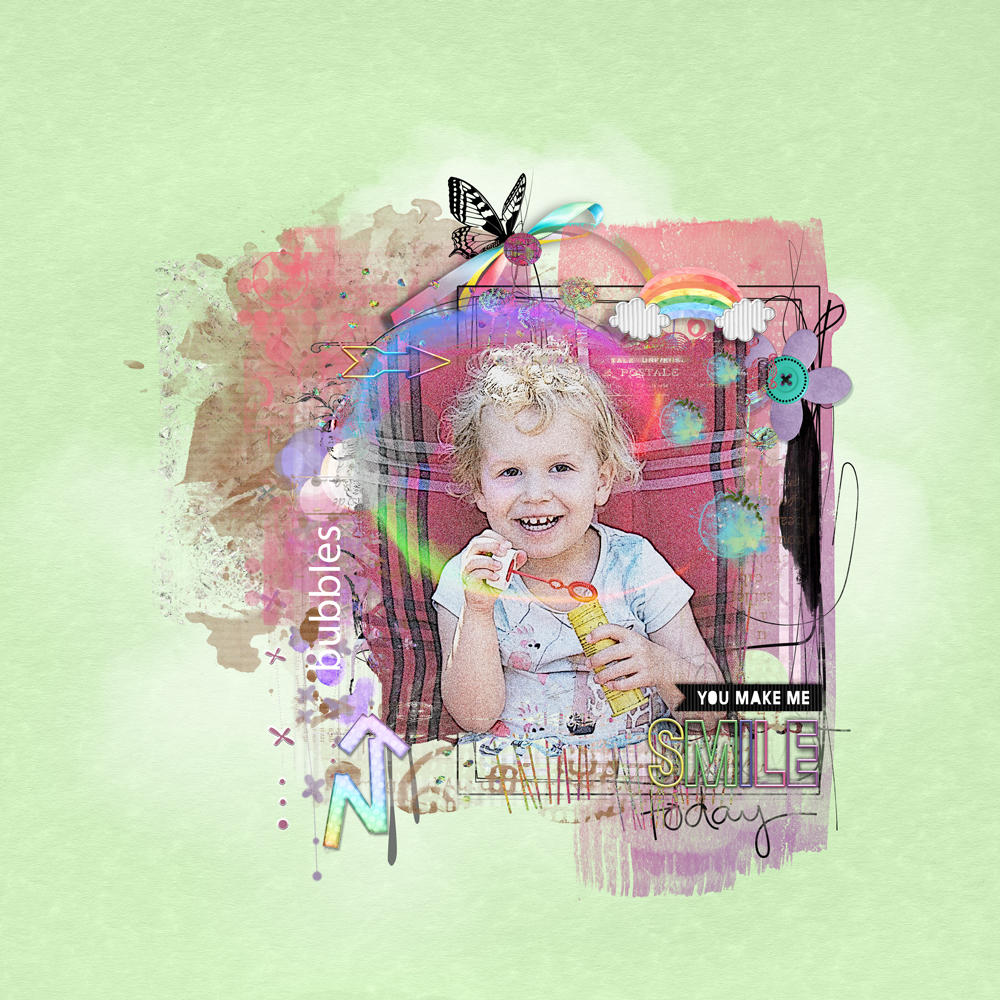 Over the Rainbow – inspiration by Marianne
