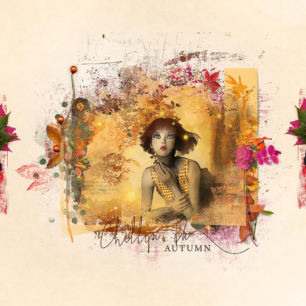 Layout inspiration artCrush8 Collection