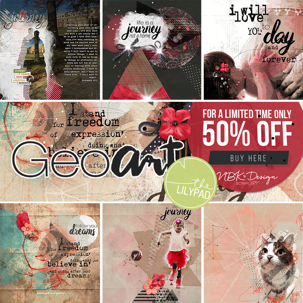 GeoArt – Re-release and save 50%