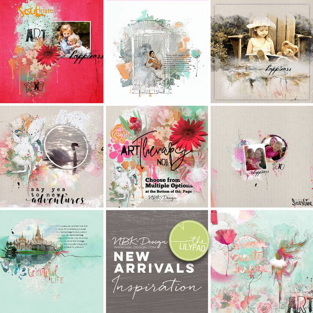 CT Inspiration with the artTherapy No1 Collection