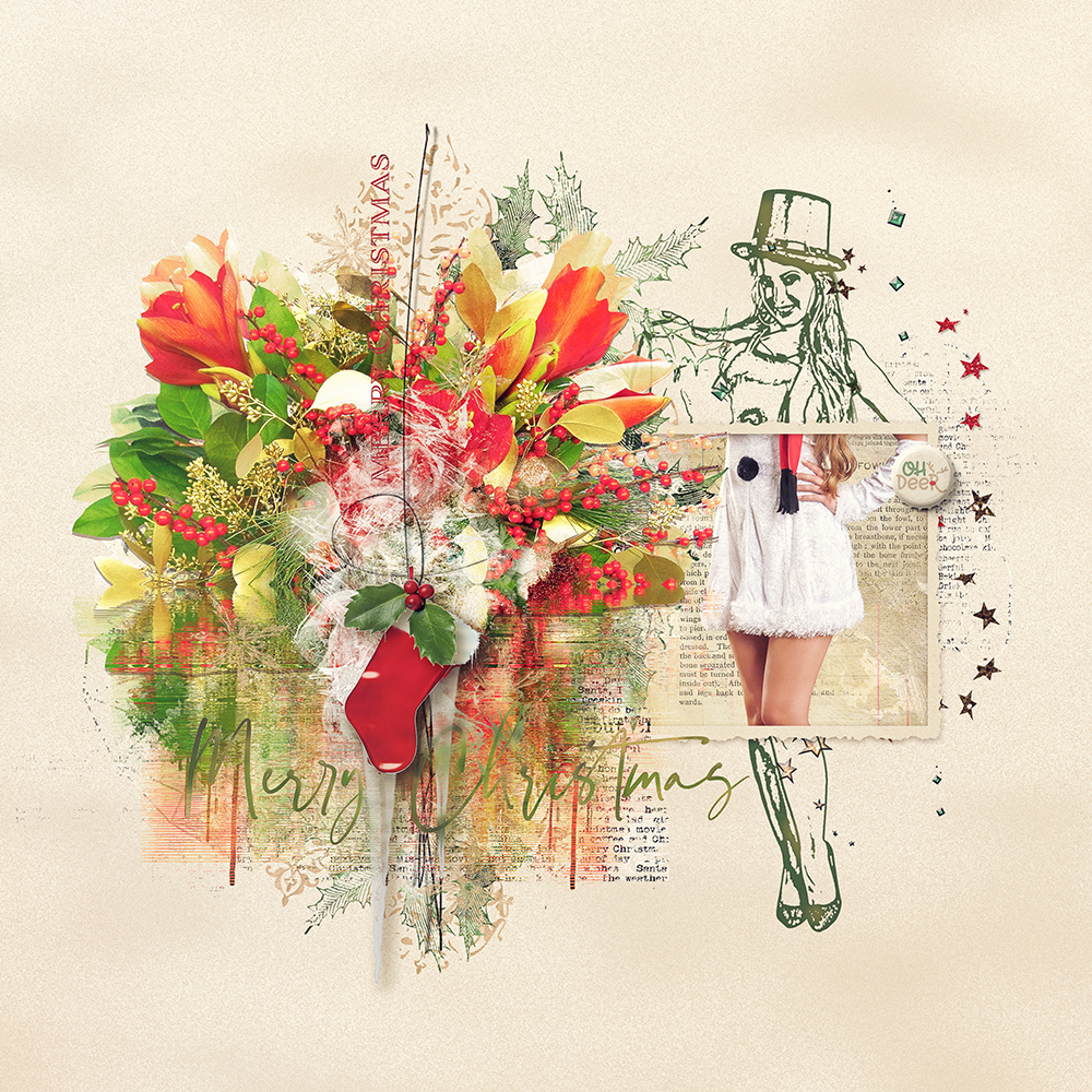 Layout inspiration for Joyous by Marianne