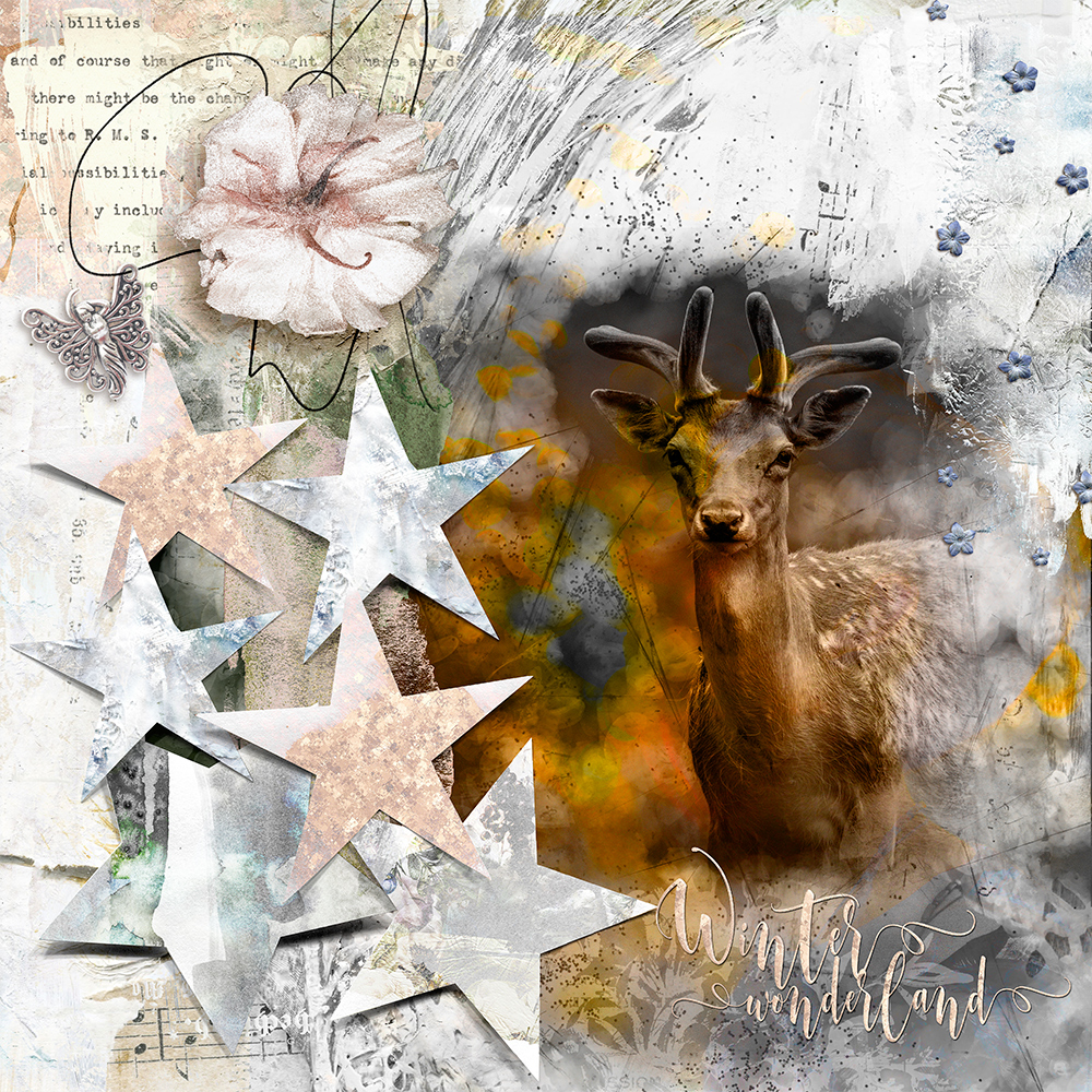 Layout Inspiration with ARTCRUSH NO10 Collection by CLIN D'OEIL