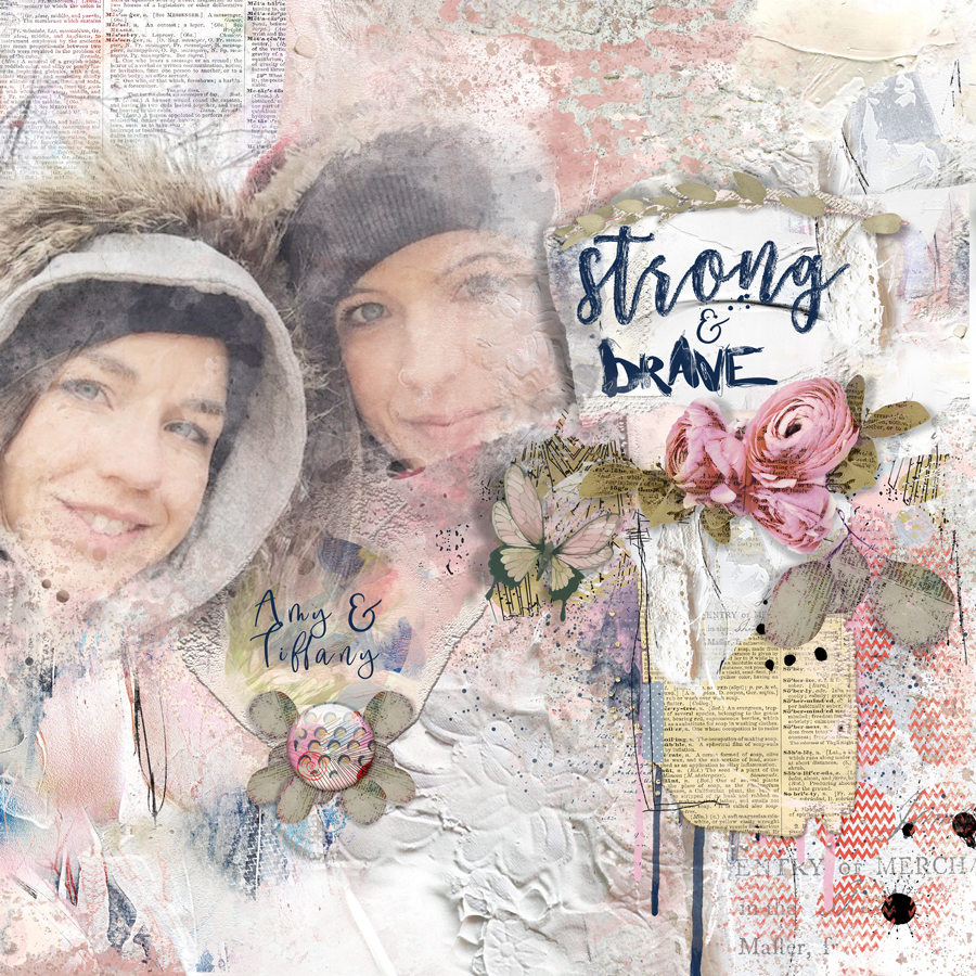 Layout Inspiration, by Danesa, using artCrush No 12