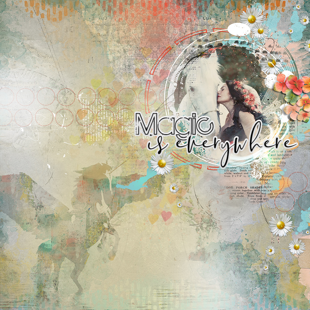 Layout inspiration for artCrush No13 by Marianne