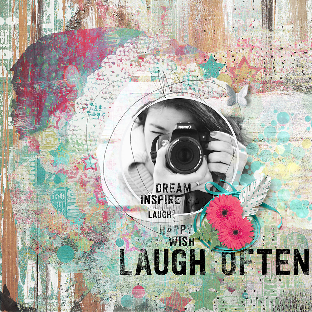 Laugh often – Inspiration by Cindy