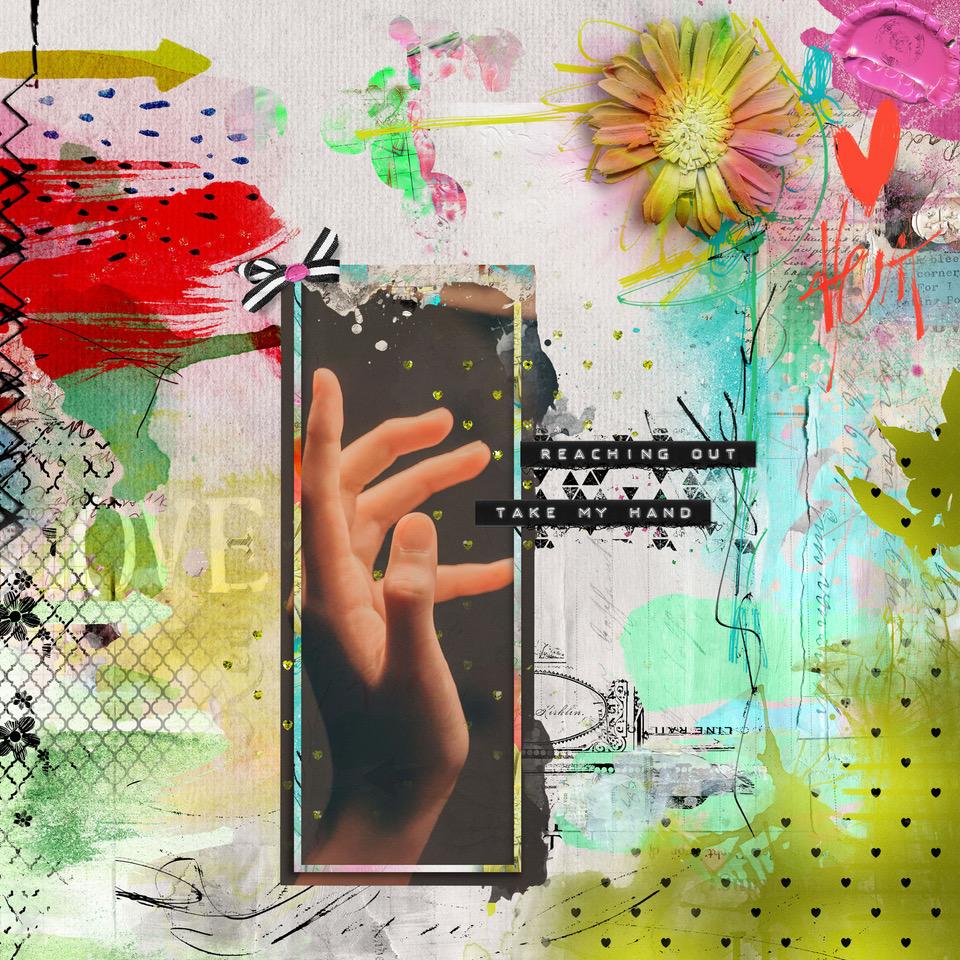 Layout inspiration, by Danesa, using artCrush No 15