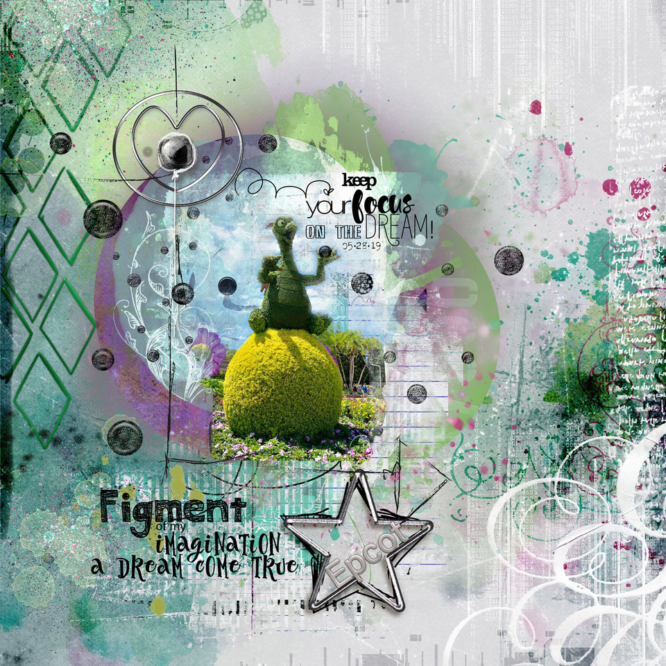 Layout inspiration, by Danesa, using Focus Collection